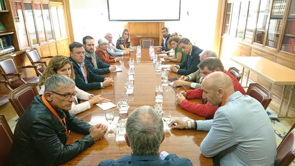 Reunión en el Ministerio de Transición Ecológica - FOTO: Cedida