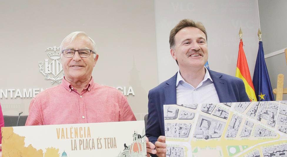 Joan Ribó y Giusseppe Grezzi