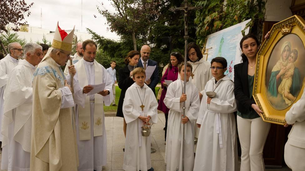 Schoenstatt celebra 50 años en España con una misa multitudinaria