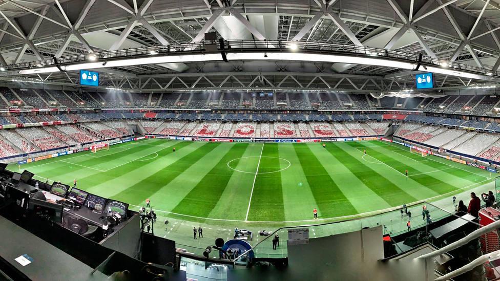 Imagen del Stade Pierre Mauroy de Lille (@hugoballester)