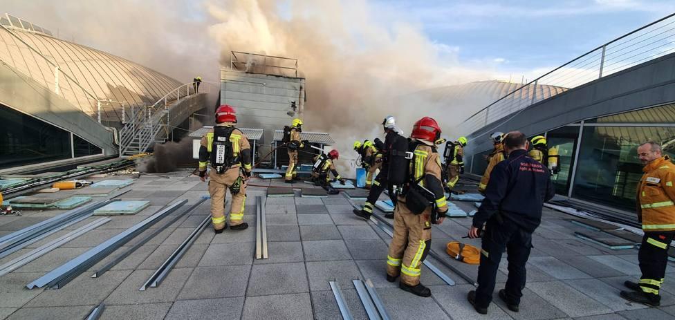 Incendio Aeropuerto Alicante-Elche