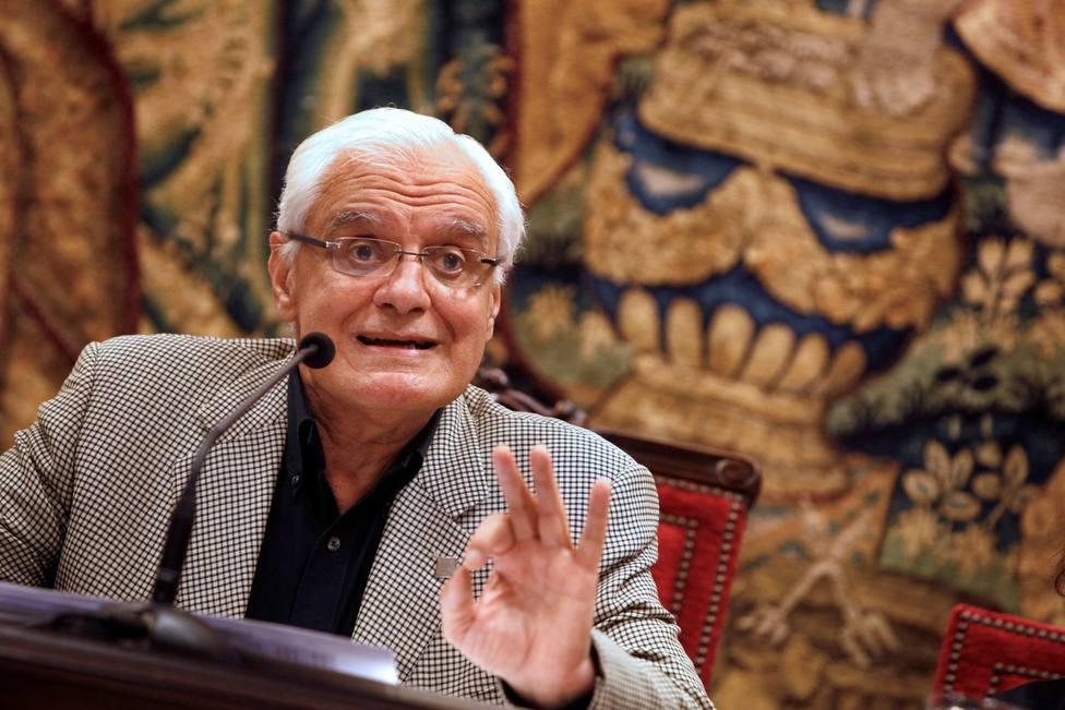 Víctor Freixanes, presidente de la RAG - FOTO: Efe / Cabalar
