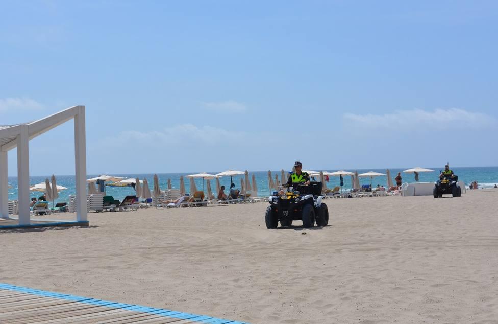 Imagen de archivo de la Playa del Postiguet (Ayuntamiento)