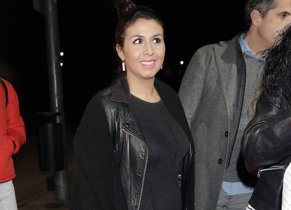 Sara Verdasco presume de tripita de embaraza en la vuelta de Ketama