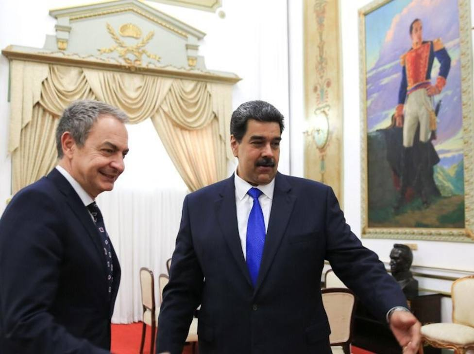 Delcy Rodríguez agradece los importantes esfuerzos de Zapatero en Venezuela