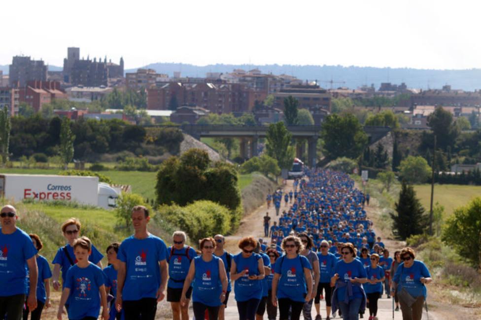 Imagen de participantes en una edición de la marcha