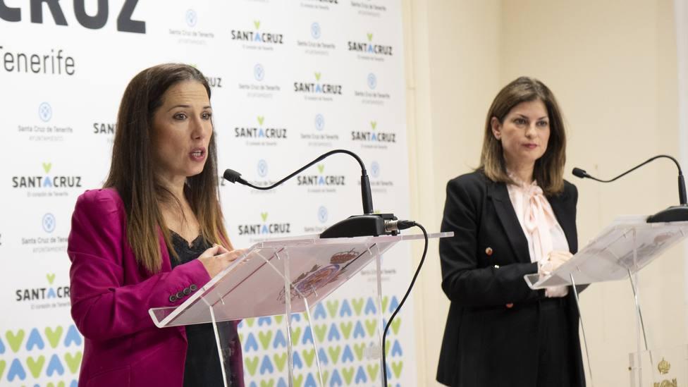 Patricia Hernández y Matilde Zambudio
