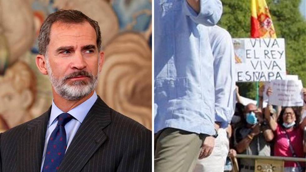 El bulo del Viva Esñapa contra Felipe VI con el que Podemos tiene que rectificar