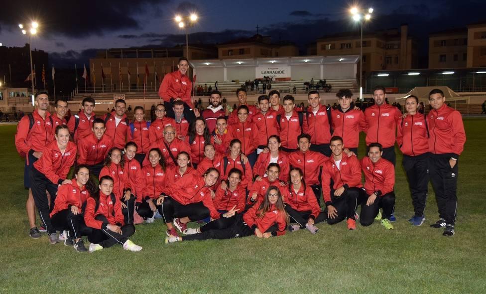 Úrsula Ruiz y Pablo Lozoya, representantes de Lorca en el Campeonato de España Federaciones 2020