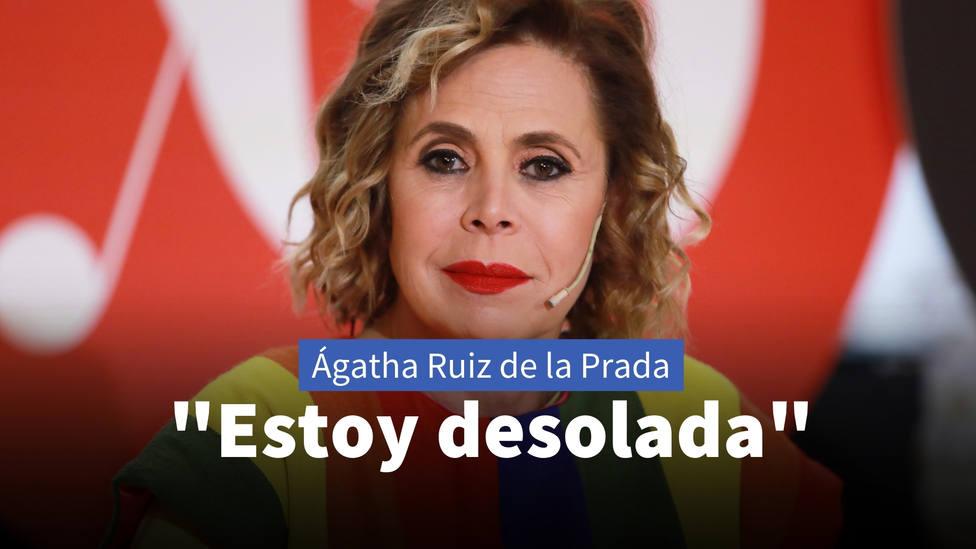 El dramático acontecimiento por el que Ágatha Ruiz de la Prada ha pedido ayuda públicamente: Desolada