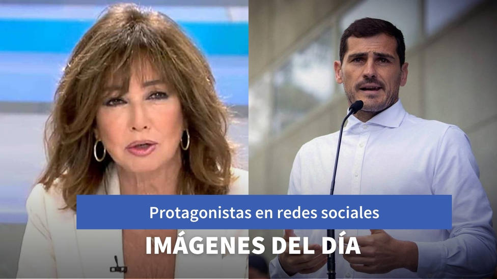 Imágenes del día: Ana Rosa Quintana se sube encima de la bicicleta y el cambio de look de Casillas