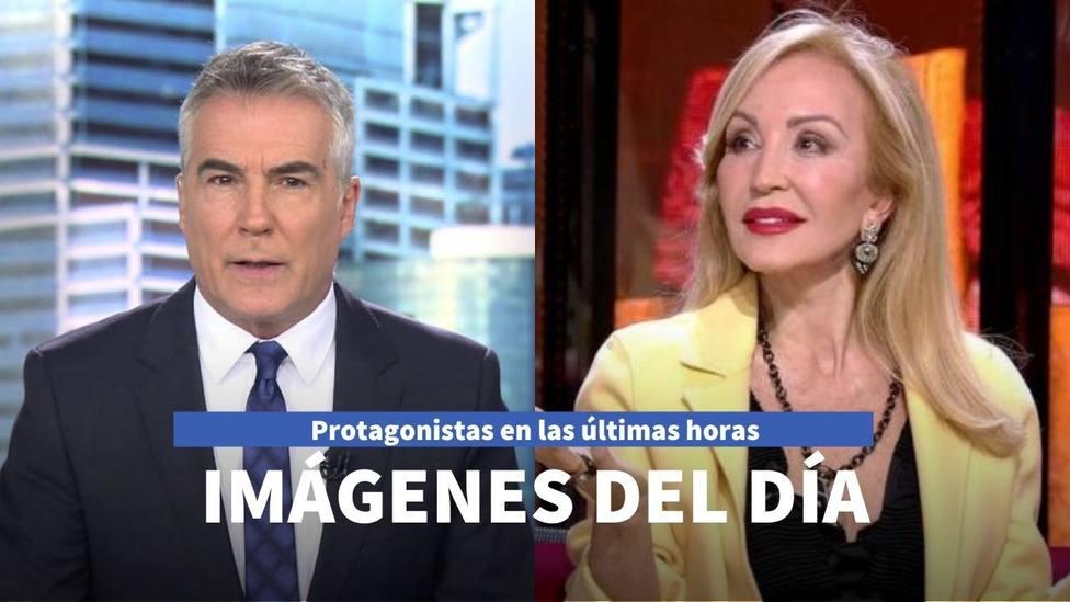 Imágenes del día: el viaje de Carmen Lomana y las aficiones de David Cantero al salir de Telecinco