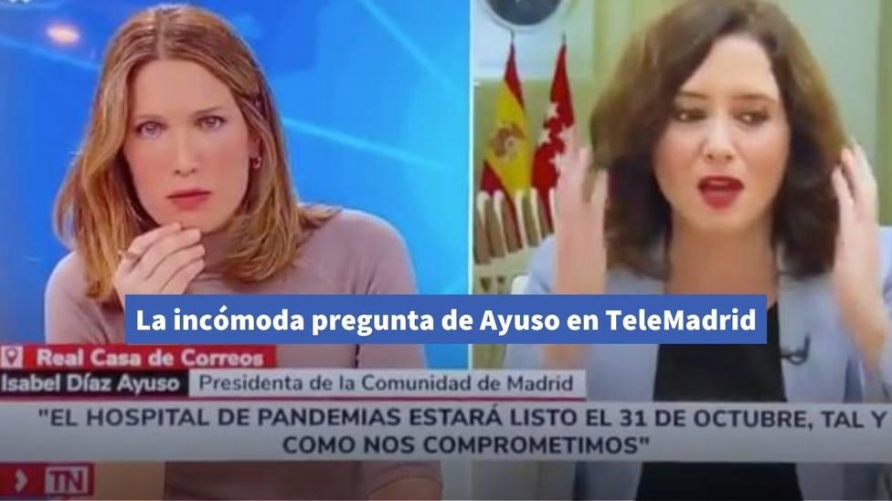 Ayuso en Telemadrid