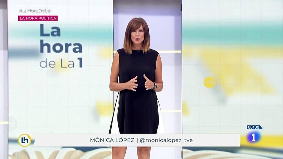 La reprimenda de una jueza en TVE a Mónica López sobre el estado de alarma: Lo dice la Constitución