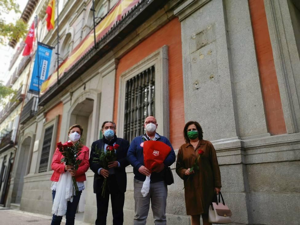 El PSOE presenta una querella contra el Ayuntamiento de Madrid por vulnerar la memoria histórica