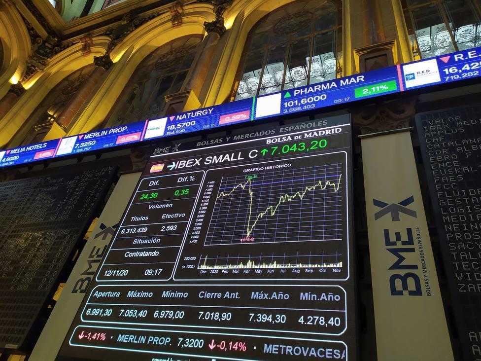 La Bolsa absorbe las realizaciones de beneficios casi sin despeinarse