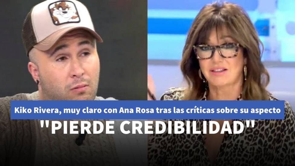 Kiko Rivera y Ana Rosa Quintana