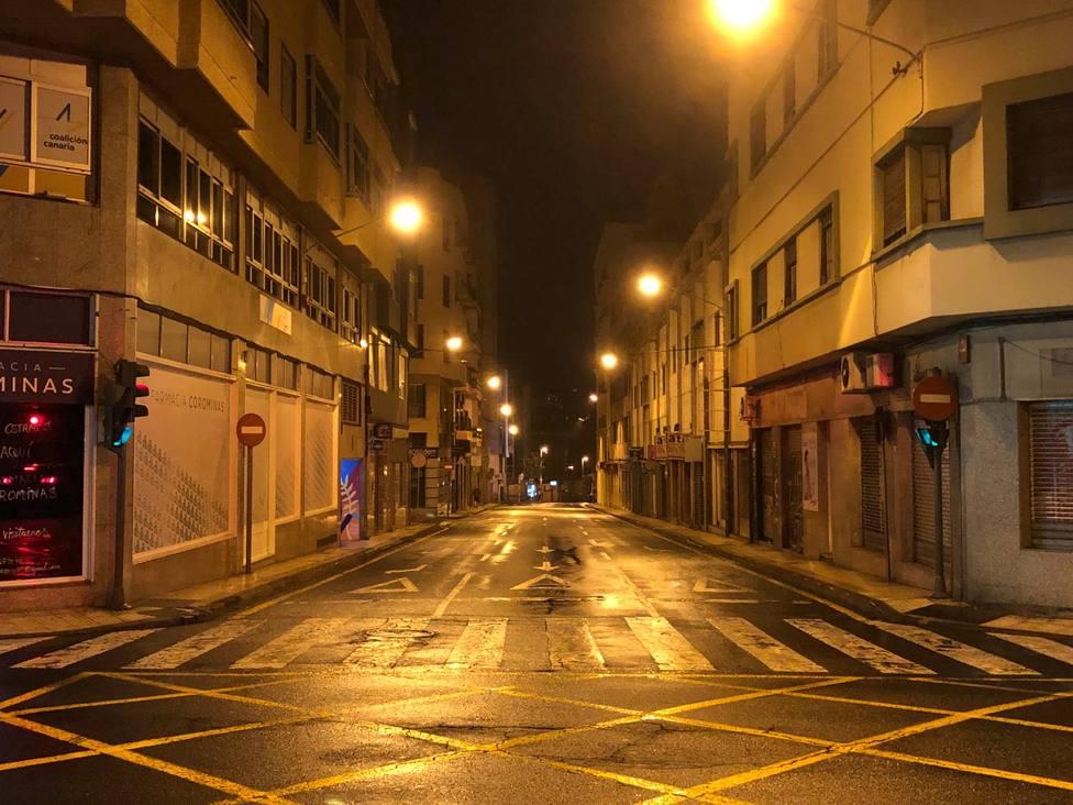 Santa Cruz de Tenerife toque de queda coronavirus