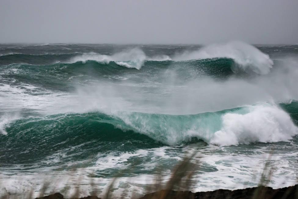Foto de archivo de un temporal reciente en nuestras costas - FOTO: Francisco Boo Quintia