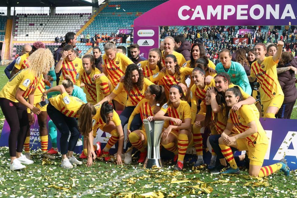 El FC Barcelona defenderá el título de campeonas de la Supercopa de España