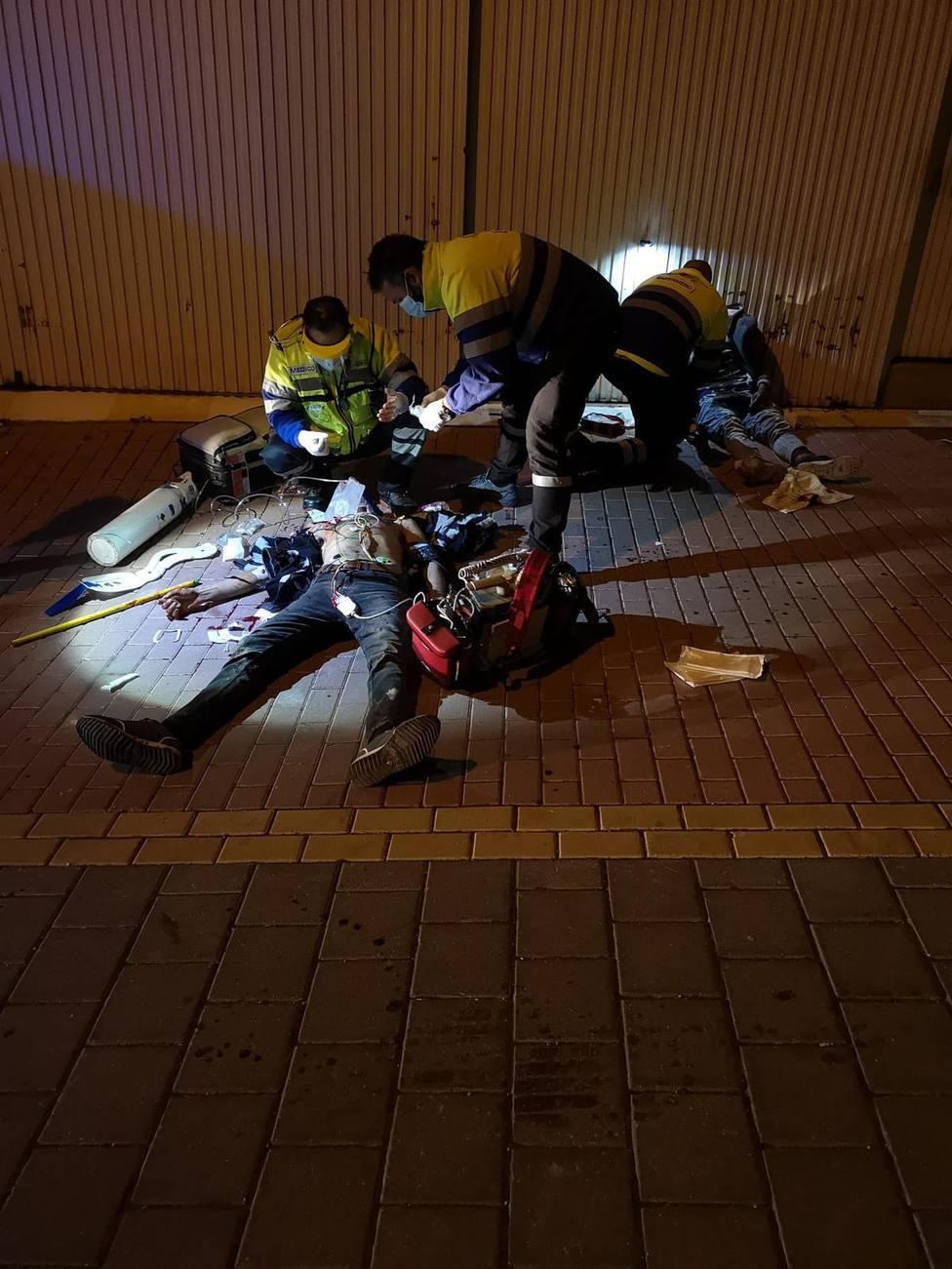 Heridos dos hombres tras una pelea con armas blancas en San Cristóbal