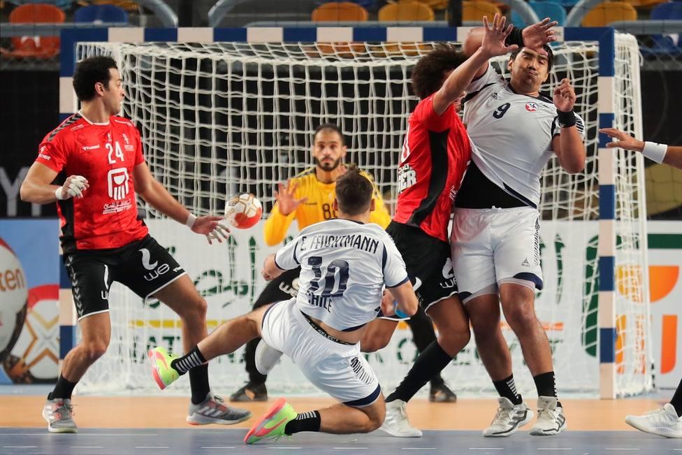 Egipto se impone a Chile en el partido inaugural del Mundial - Balonmano - COPE