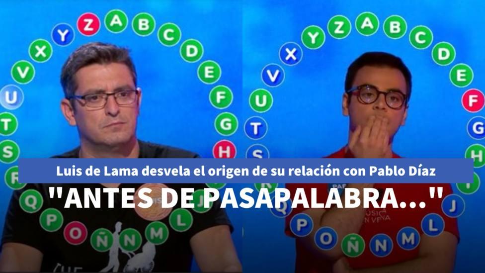 Luis de Lama desvela el origen de su relación con Pablo Díaz: Antes de Pasapalabra...