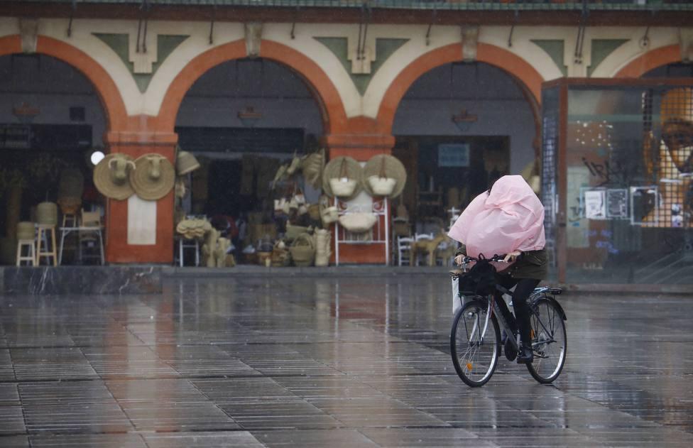 Vuelven la lluvia, el viernto y bajada de temperaturas por la borrasca Karim