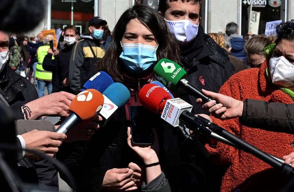Isa Serra cree que Más Madrid cometió un error al decir no precipitadamente a una candidatura de unidad