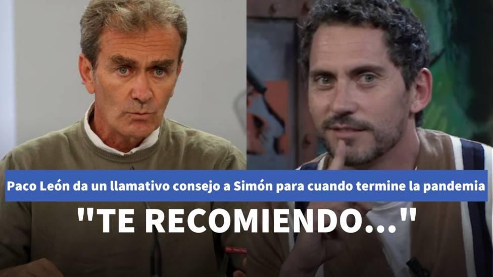 Paco León da un llamativo consejo a Fernando Simón para cuando termine la pandemia: Te recomiendo...