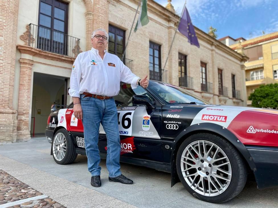 Cumple su sueño a los 62 años: correr en el Rally de Sierra Morena