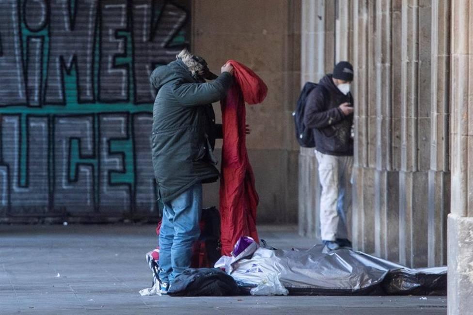 Las personas sin hogar, olvidadas en la estrategia de vacunación