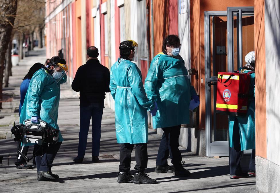 Madrid notifica 1.244 casos nuevos, 534 de las últimas 24 horas, y 15 fallecidos más