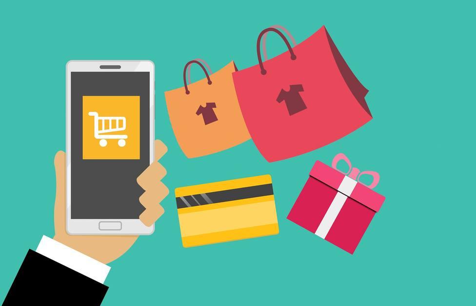 Representación de compras y pagos a través de Internet
