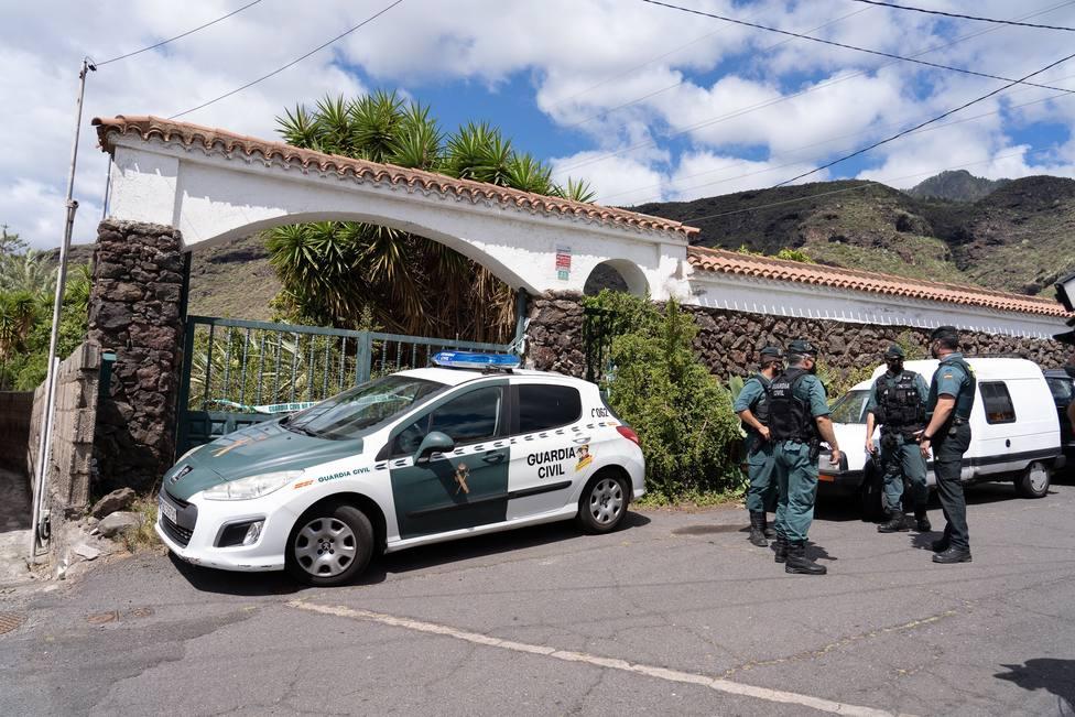 Nuevo registro en la casa del padre de las niñas desaparecidas en Tenerife