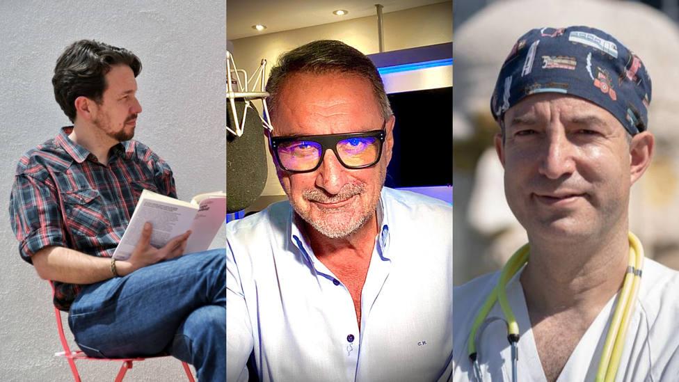 La comparación de Herrera sobre Pablo Iglesias tras su cambio de look, entre lo más leído de este jueves