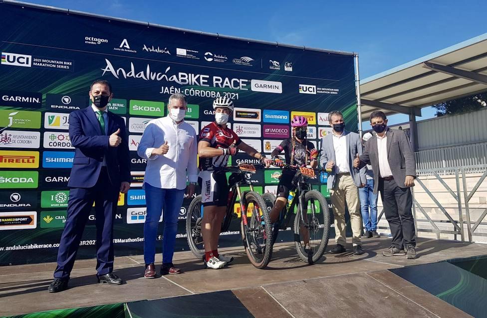 Arranca en Jaén la primera mitad de la 11ª Andalucía Bike Race