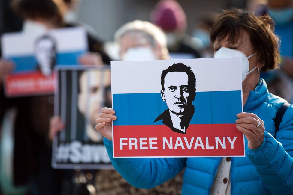 Navalni añade una nueva demanda contra la prisión en donde se encontraba hospitalizado