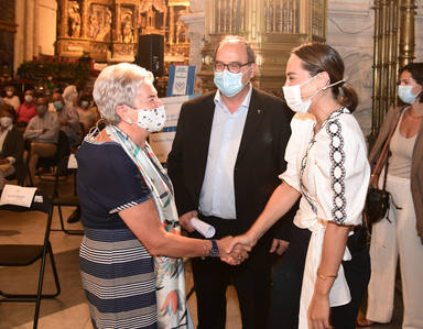 Nueva cita del ciclo Diálogos en la Catedral para la concordia con Tamara Falcó y la jesuitina María Luisa Berzosa