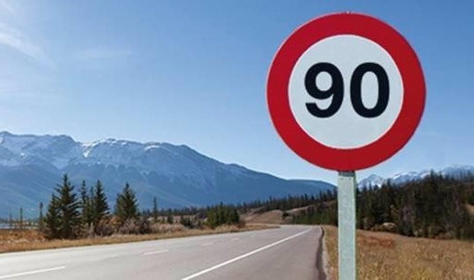 Investigado un conductor por circular a 232 Kilometros por hora en una via limitada a 90 en Mayorga