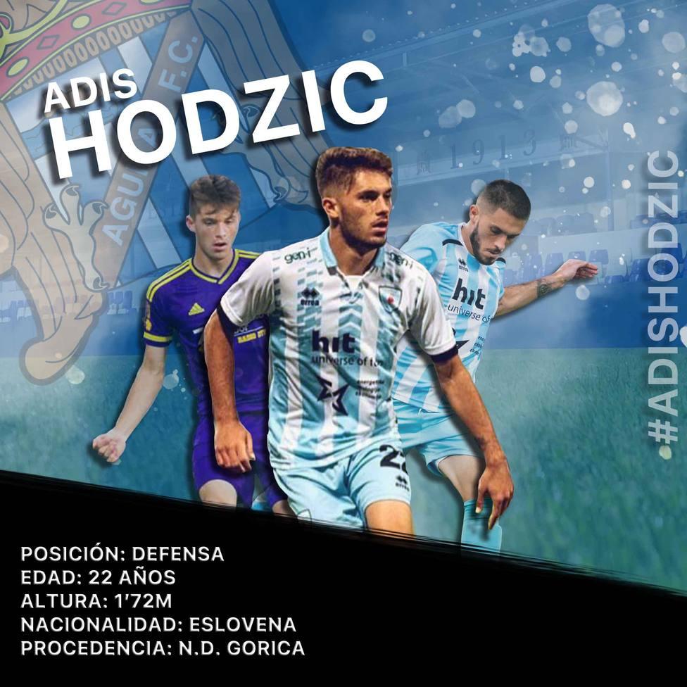 El Águilas FC completa su plantilla con el lateral derecho Hodžic