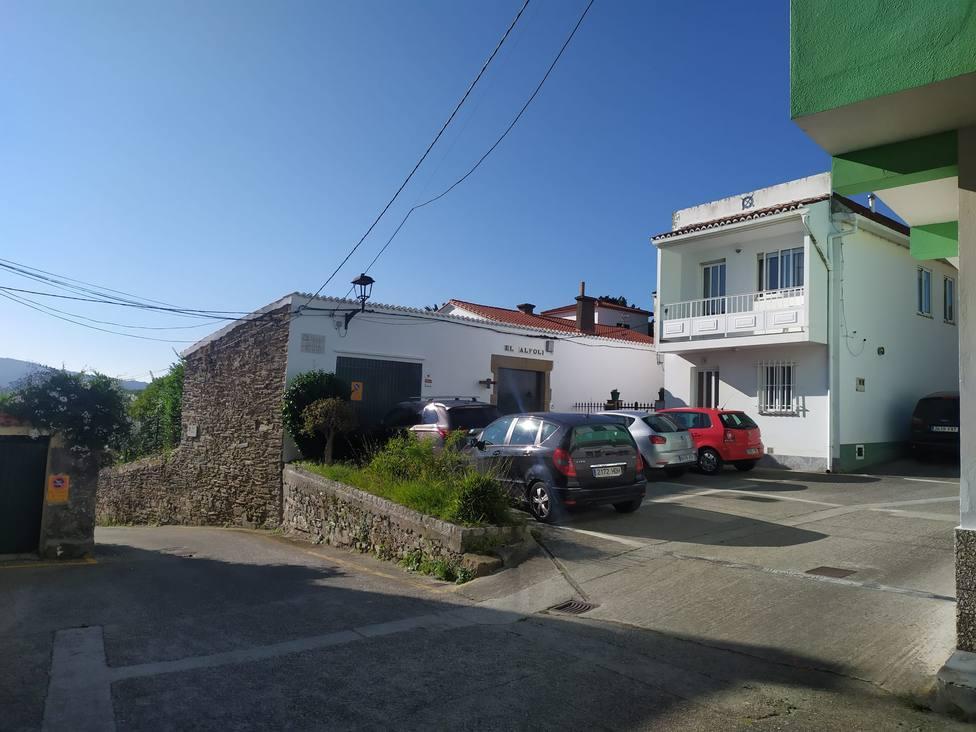 Plazuela de los Reales Alfolíes en Ares. FOTO: concello de Ares