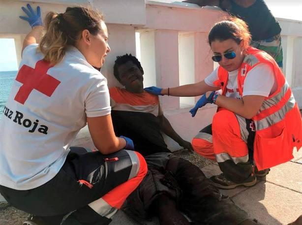 Ya son 1.400 los migrantes que han entrado por la valla de Ceuta en lo que va de año