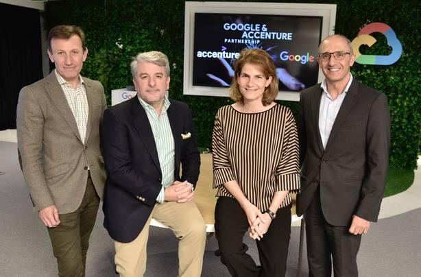 Accenture y Google se unen para transformar la experiencia del cliente con la tecnología