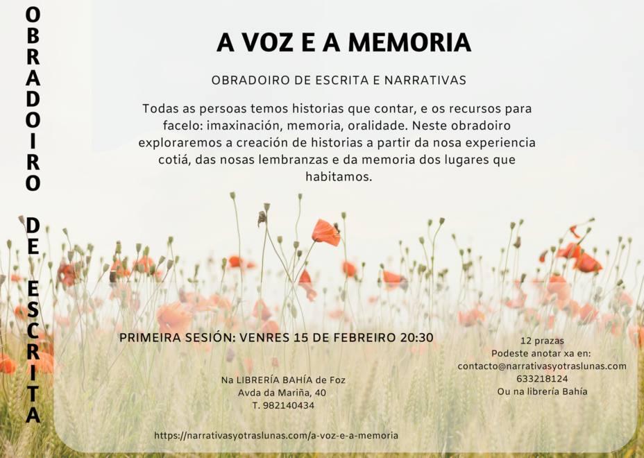Voz y memoria