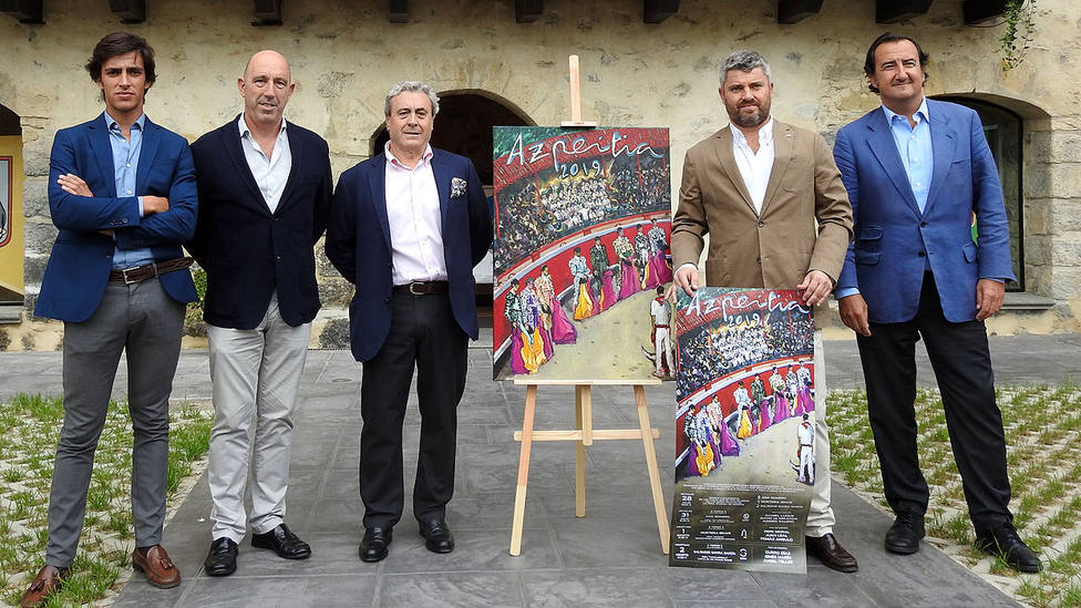 Acto de presentación del cartel anunciador de los sanignacios de Azpeitia