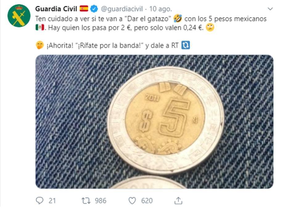 monedas pesos