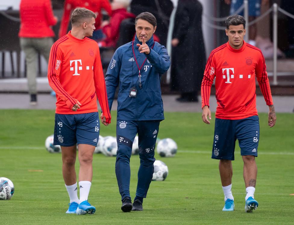 Niko Kovac: Coutinho no está todavía para salir de inicio o jugar los 90 minutos