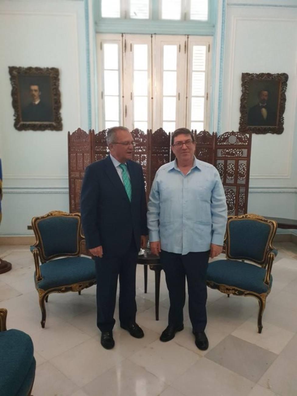 El número dos de Exteriores, en Cuba para reforzar una relación basada en respetuo mutuo y el fomento de la confianza