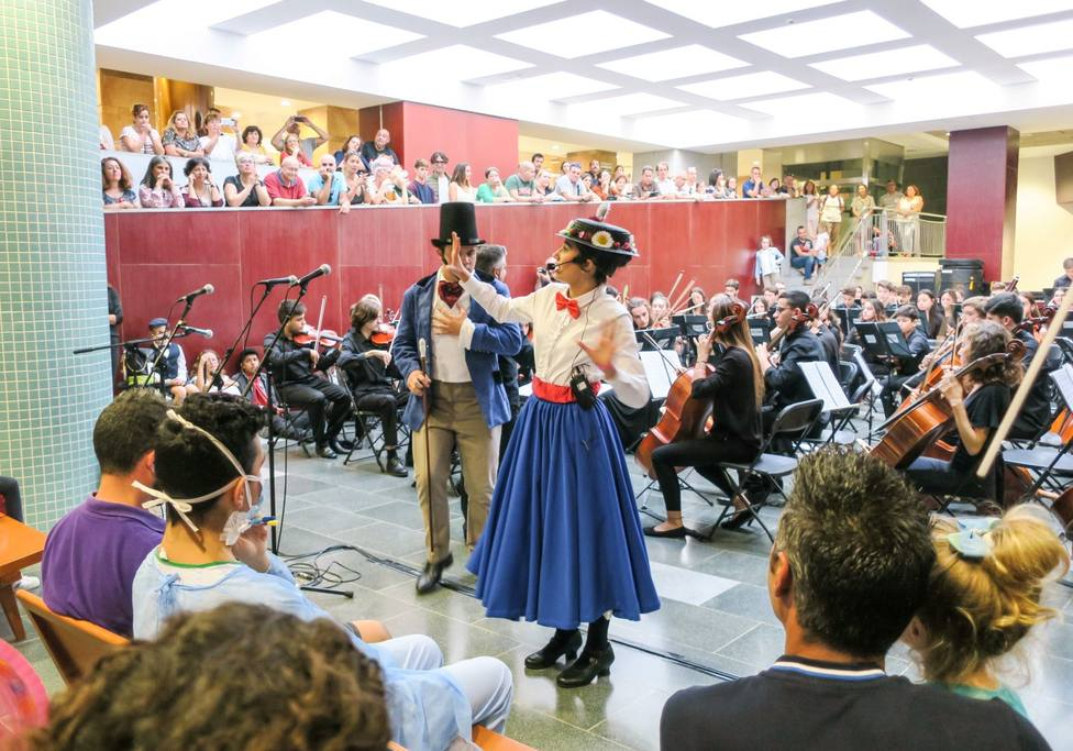 Concierto de la Orquesta Filarmónica Juvenil de Tenerife en la Candelaria